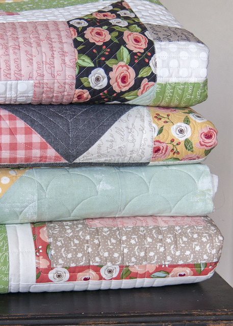 Farmer's Daughter quilt stack