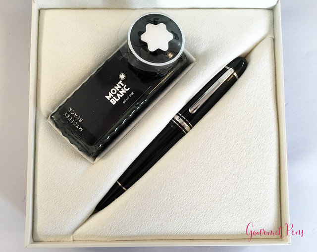 Review Montblanc Meisterstück 149 Platinum Fountain Pen - Oblique Triple Broad @Montblanc_World @AppelboomLaren 2