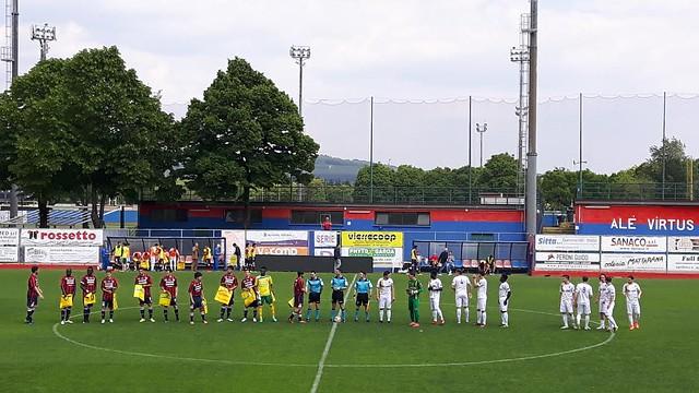 Virtus Verona - Belluno 1-2: Ko di rigore, Trieste decisiva
