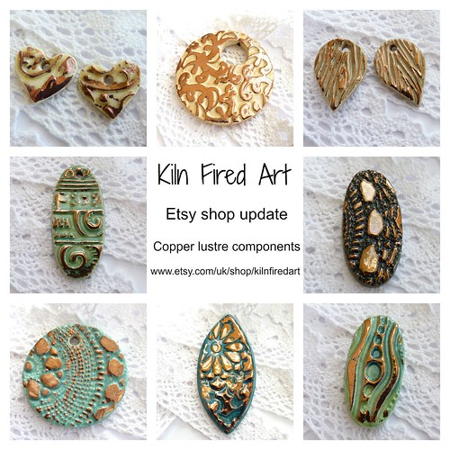 kiln fired art components