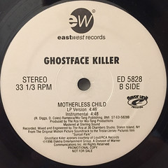 GHOSTFACE KILLER:MOTHERLESS CHILD(LABEL SIDE-B)