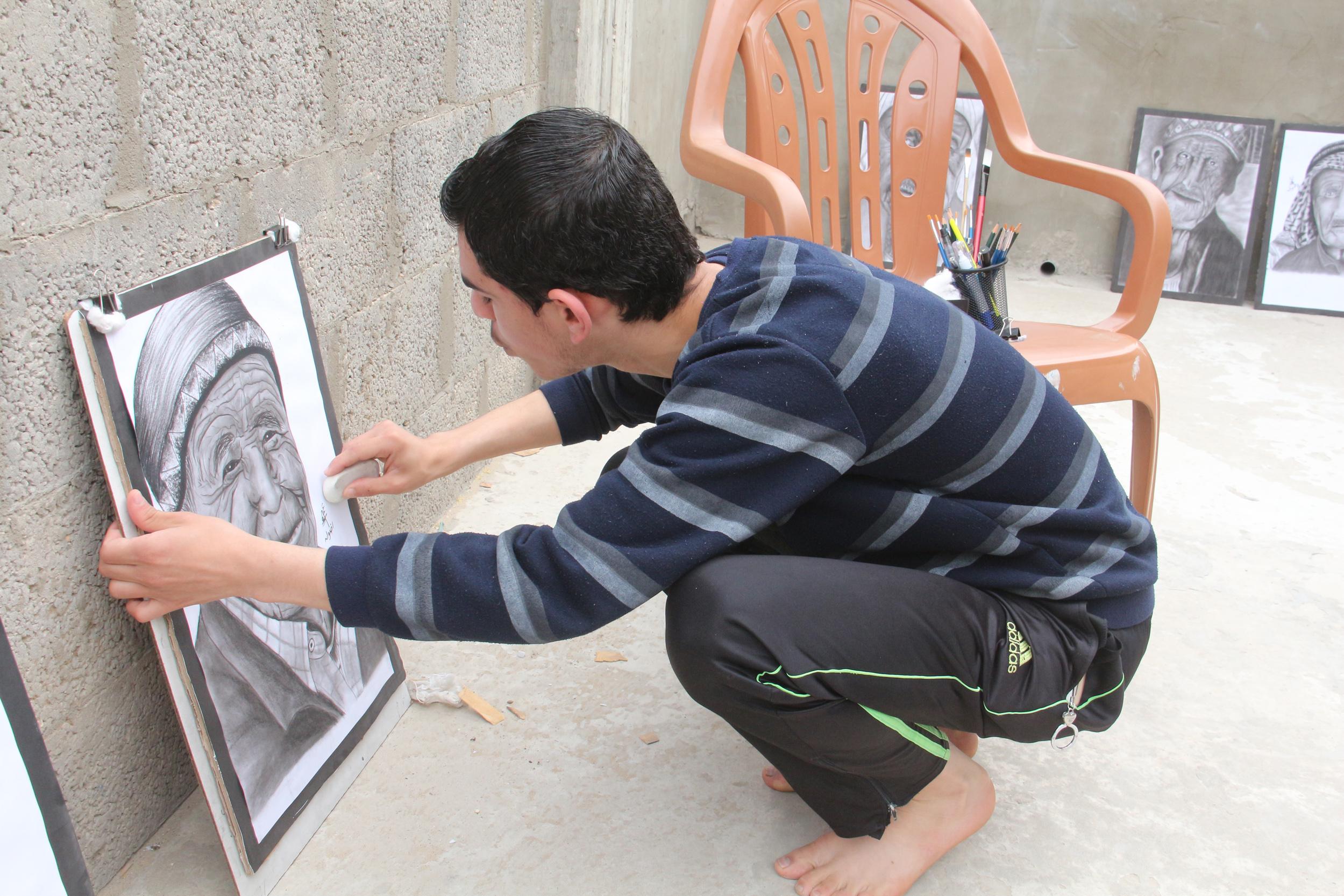 عمر رضوان غزة  (11)