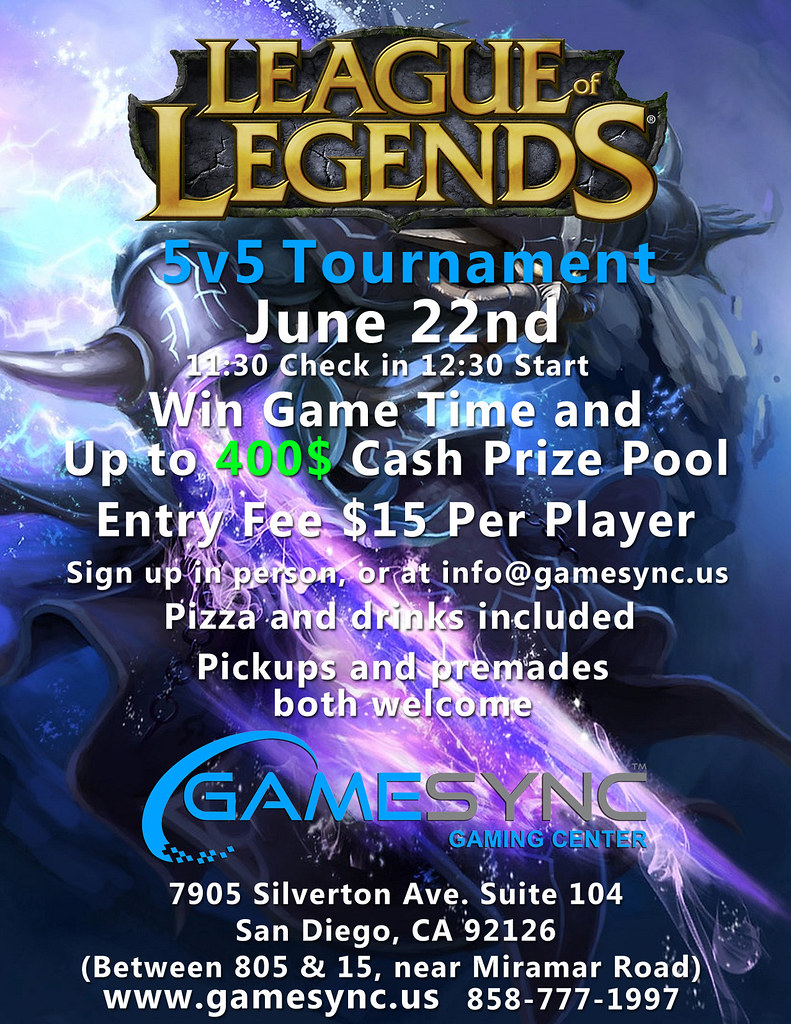 Free League Of Legends Tournaments