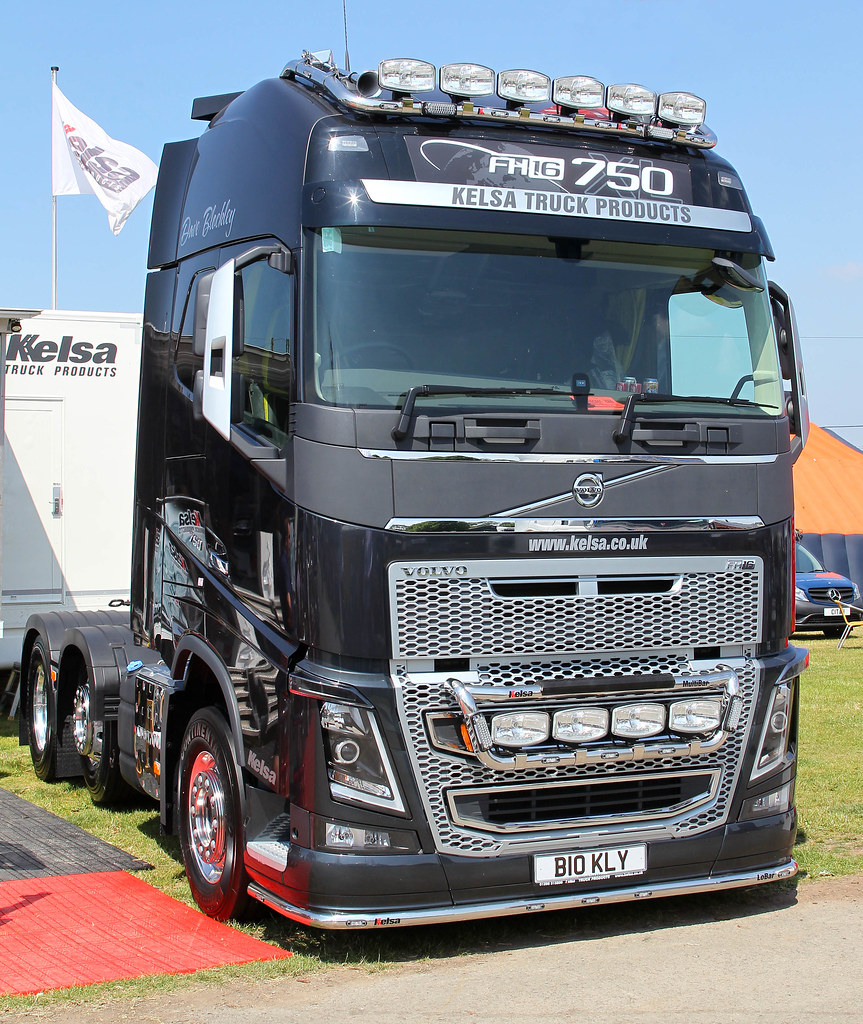 Volvo FH16 750 new look B10 KLY - Kelsa Truck Products ...