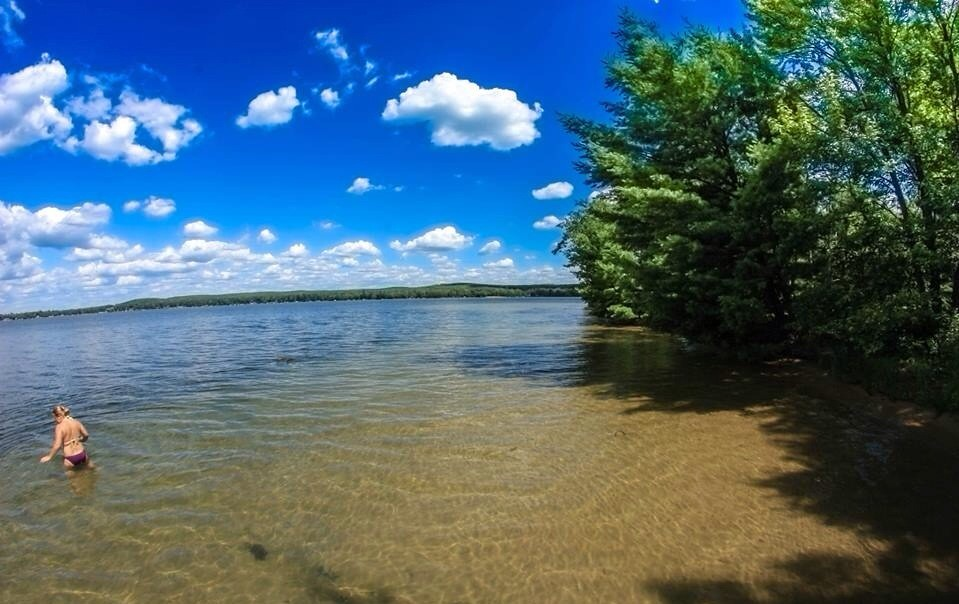 Lake Margrethe Grayling Mi Matt Swope Flickr