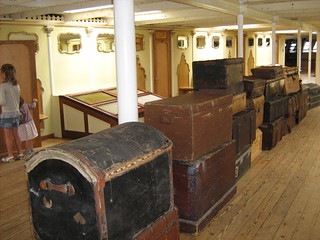 Luggage aboard the Great Ship | by balll33