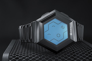Kisai Quasar Patterned Digital LCD Watch Design From Tokyoflash Japan | by Tokyoflash Japan