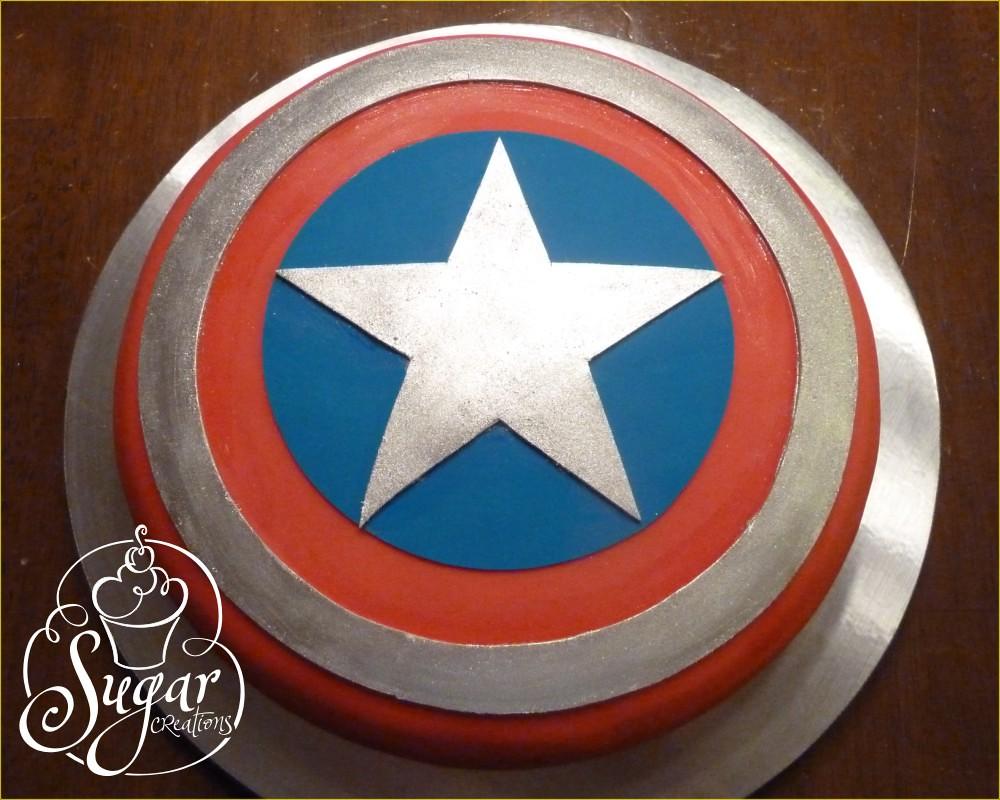 Captain America Shield Cake Pan