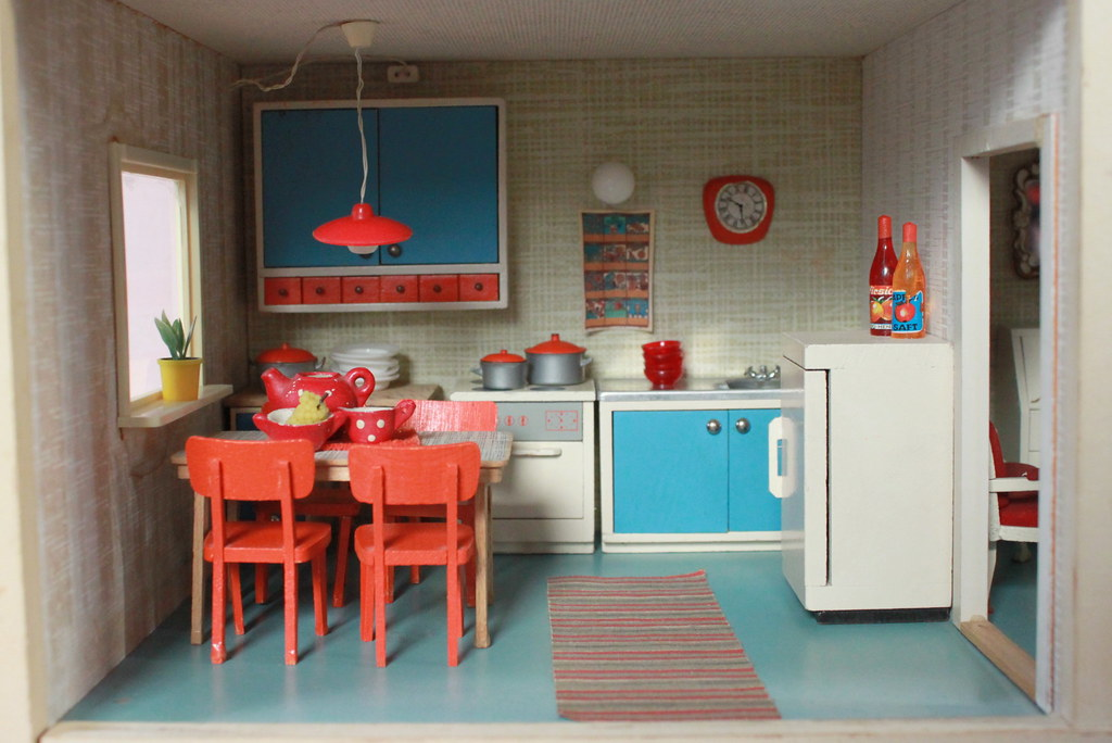 60s kitchen k che blythe berlin flickr. Black Bedroom Furniture Sets. Home Design Ideas