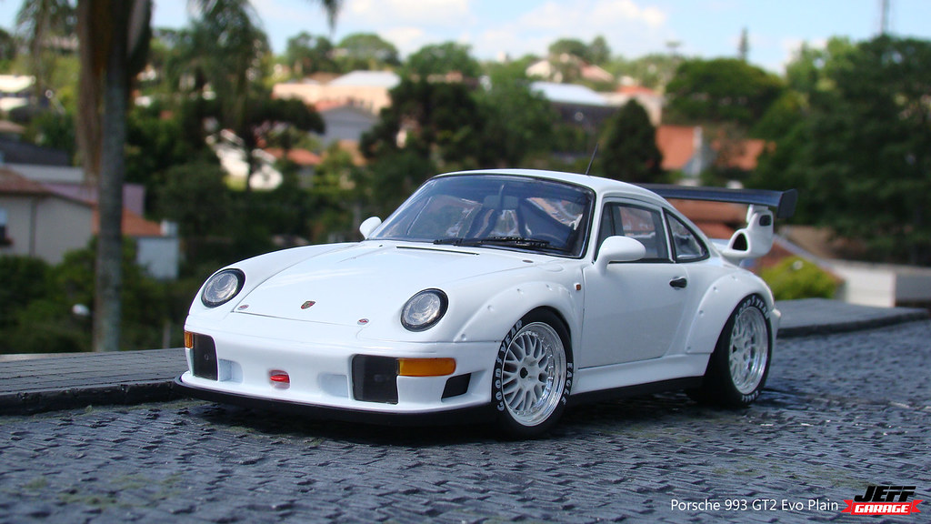 porsche 993 gt2 evo plain body diecast 1 18 scale by ut mo flickr. Black Bedroom Furniture Sets. Home Design Ideas