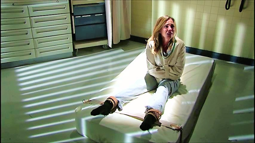 Woman Posey Straitjacket Patientenfixierung Posey Zwangsja