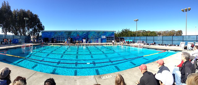 Csumb pool panorama cal state monterey bay aquatics for Pool show monterey