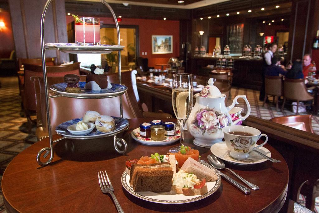 The Royal Tea At Fairmont Royal York S Library Bar Flickr