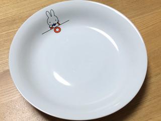 ミッフィーちゃんのカレー皿