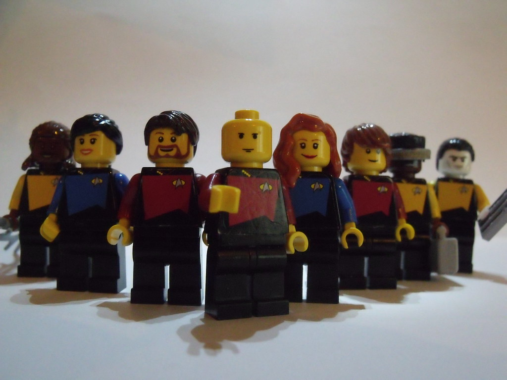 lego star trek the next generation a group shot of my