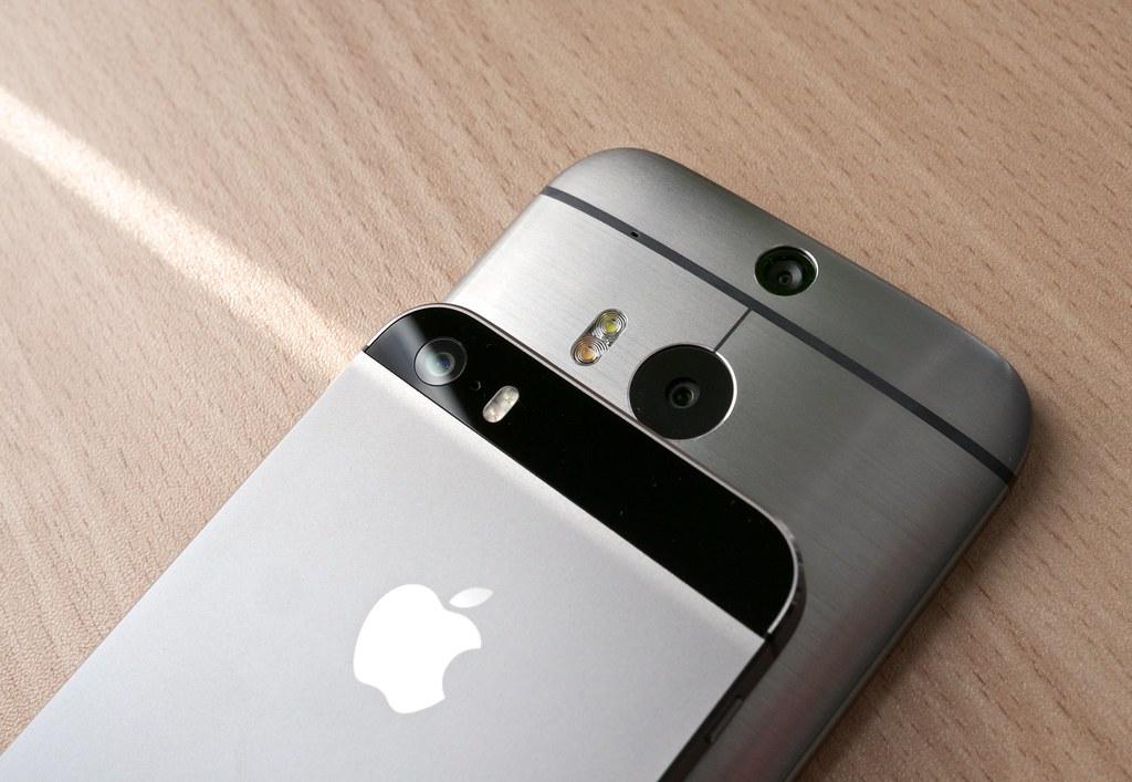 htc one m8 vs iphone 5s k�rlis dambr�ns flickr
