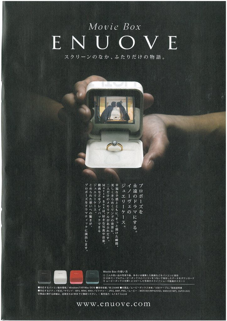 digital wedding ring box i saw this in a japanese mens