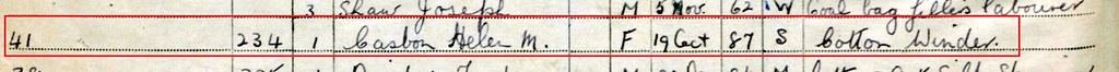1939 register detail