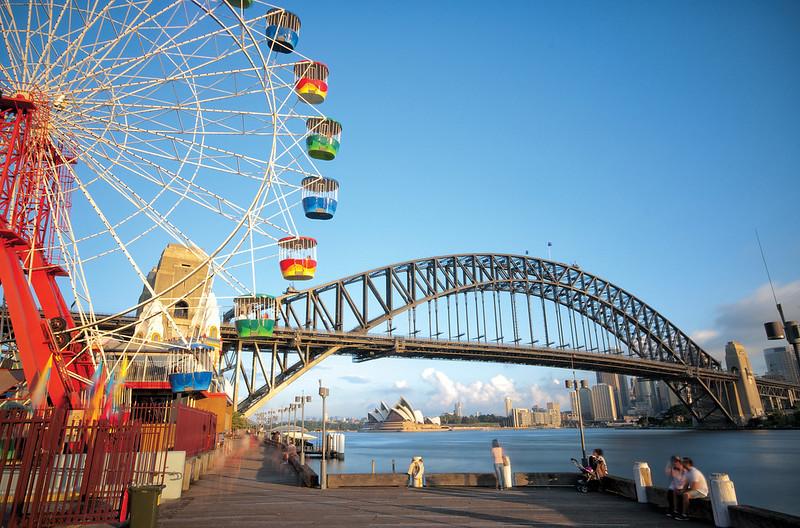 Luna Park & Sydney Harbour Bridge 2