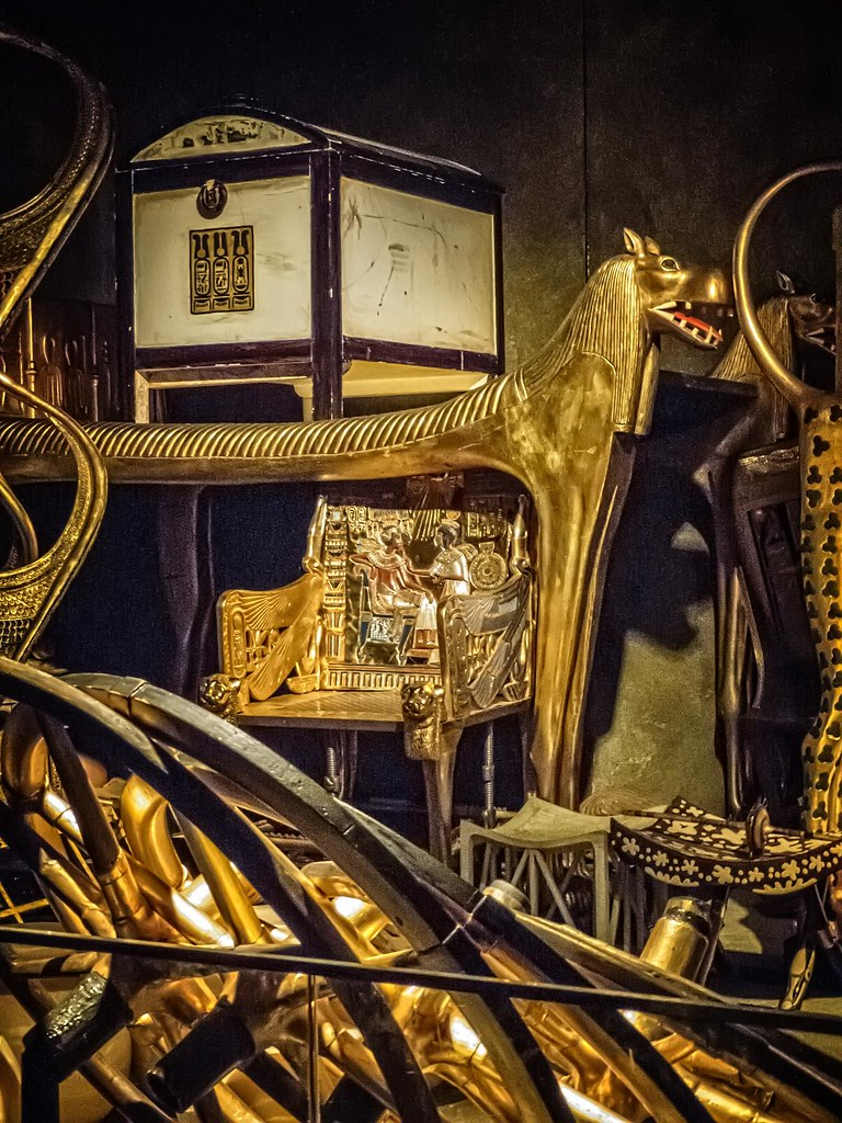 Grave Goods Of King Tutankhamun As Would Have Been First S