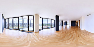Real estate photography - 360 degrees virtual tour of penthouse apartment