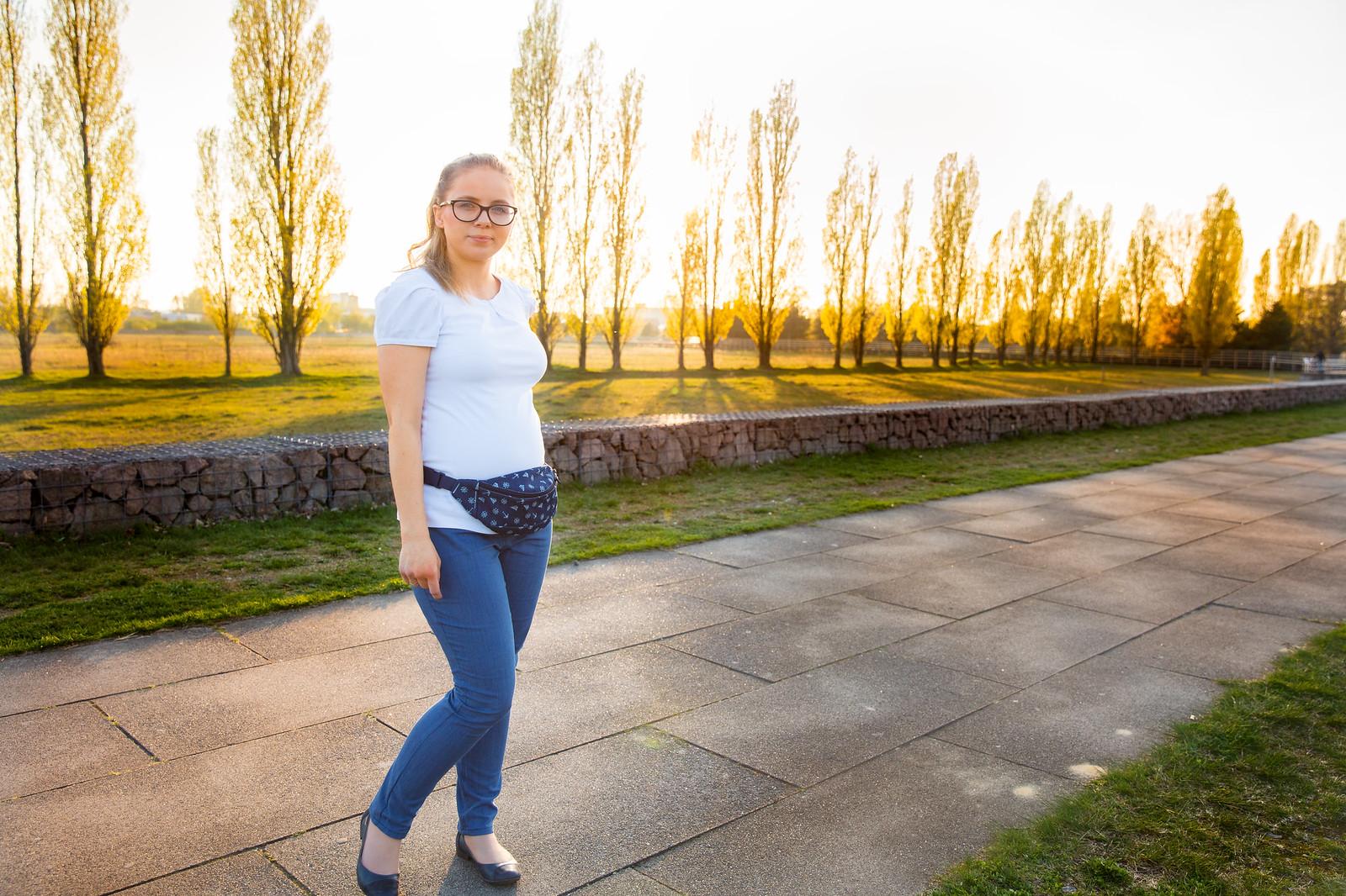 Nerka z jeansu