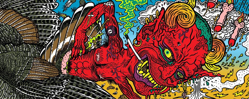 Beelzebeat - Mondotrasho cover LP blog 1