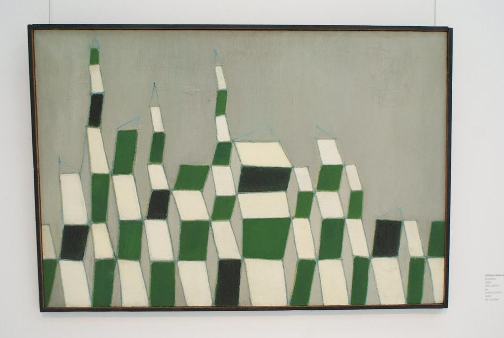 """Alfons Mazurkiewicz """"Budowa"""" (1960)"""