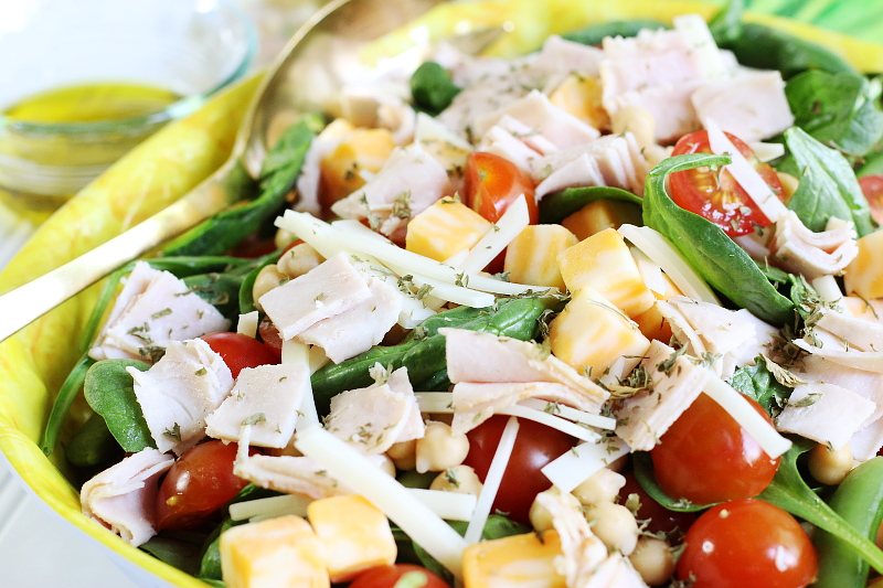 Turkey-Chopped-Salad-Dijon-Mustard-Vinaigrette-3