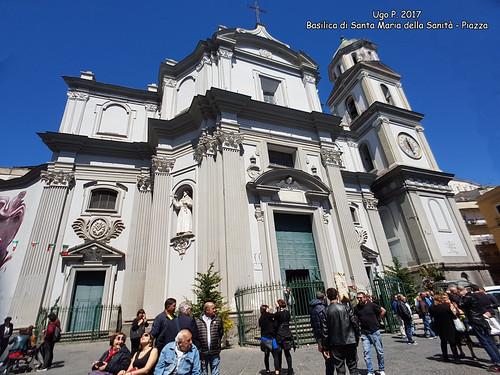 Basilica di Santa Maria della Sanità - Piazza