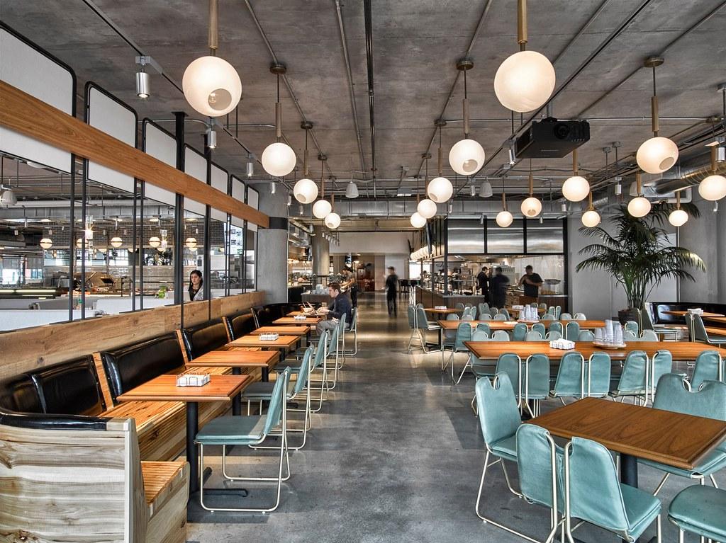 Workspace cafe by American studio AvroKO in San Francisco Sundeno_01