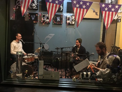 Richard McGraw and friends live on WFMU
