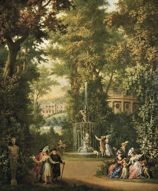 Giovanni Battista Innocenzo Colombo - Jardin