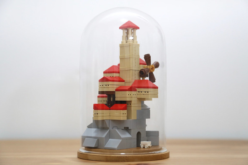 LEGO Town in a Glass Dome by Yang Wang
