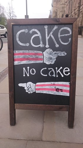 To cake or not to cake, that is the question @cafe_MCRmuseum | by dullhunk