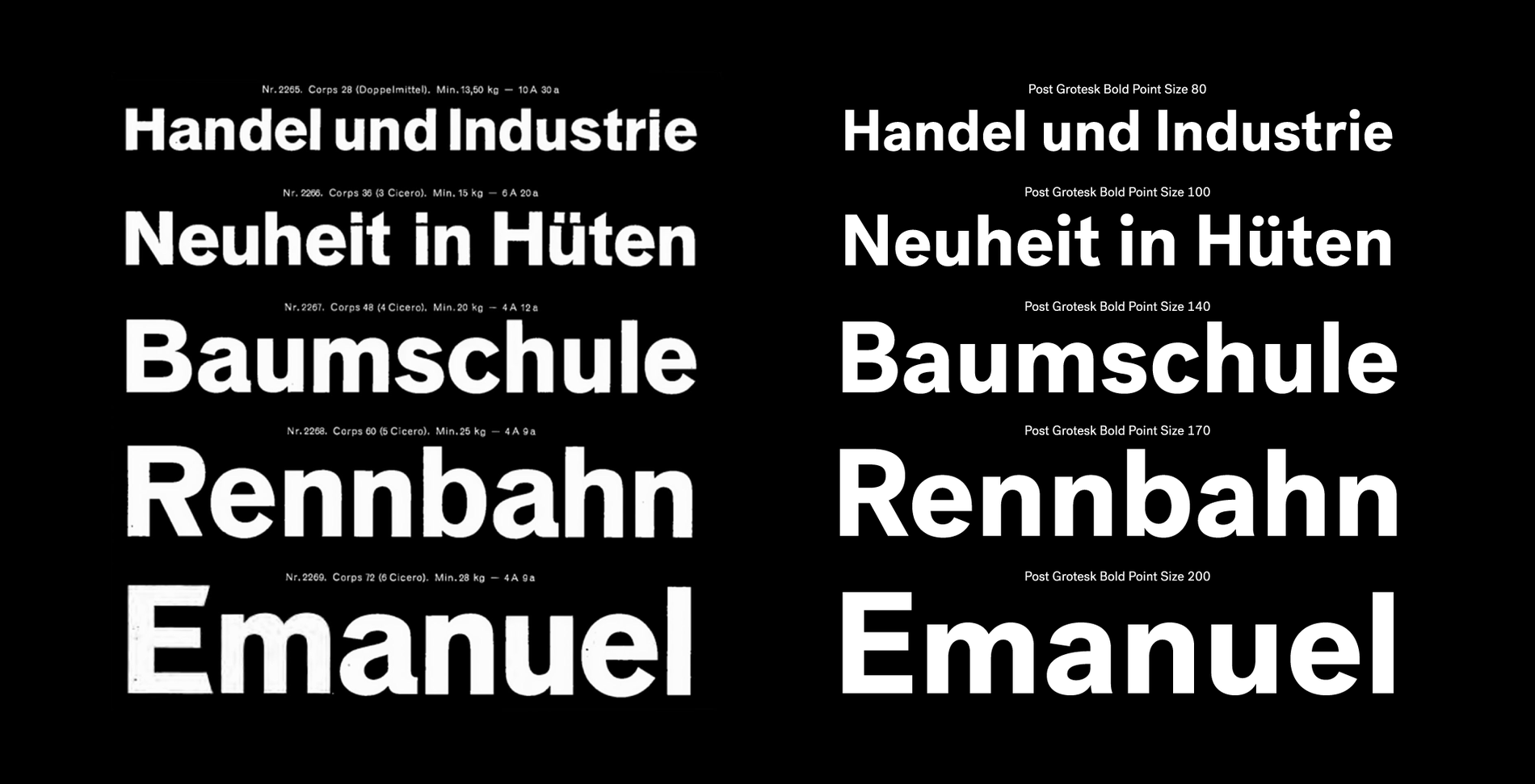 Village: Post Grotesk
