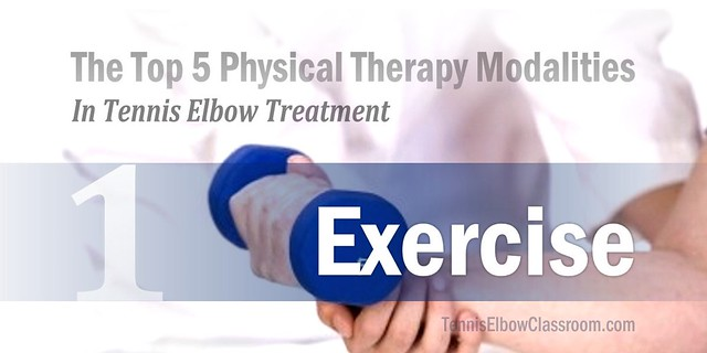 Therapeutic Exercise For Tennis Elbow In Physical Therapy