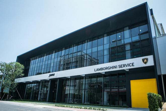 Lamborghini Taipei 南臺灣高雄服務中心(1)