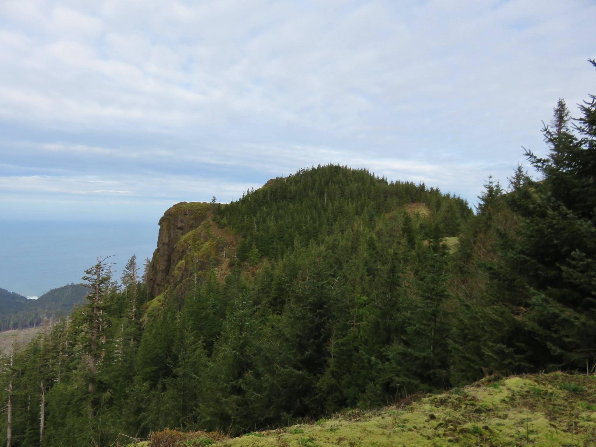 West end of Angora Peak