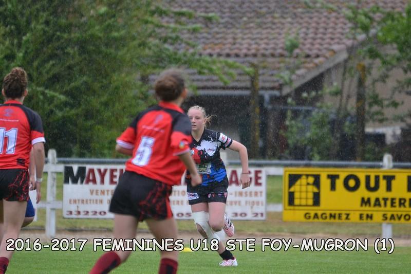2016-2017 FEMININES U18 STE FOY-MUGRON