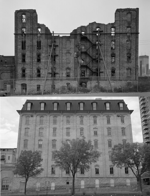 Crown Roller Mill Before & After / 1985-2012