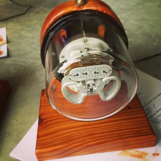 restoration of a one-of-a-kind electric meter lamp | by kms007