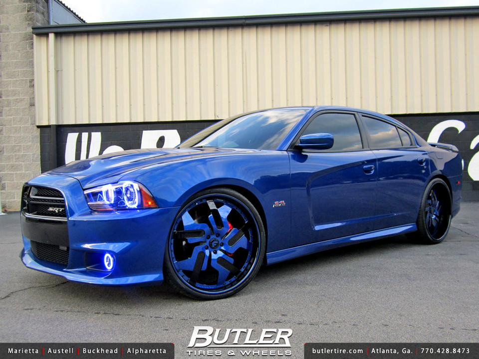 2013 Dodge Charger SRT8 with 24in Forgiato Prometeo Wheels  Flickr