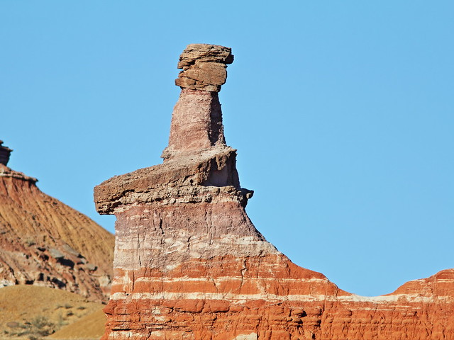 Lighthouse Rock hoodoo in Palo Duro Canyon 2-20131102
