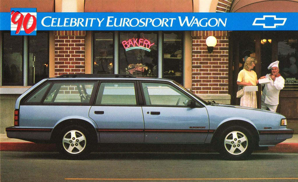 Chevrolet: Celebrity EuroSport Station Wagon