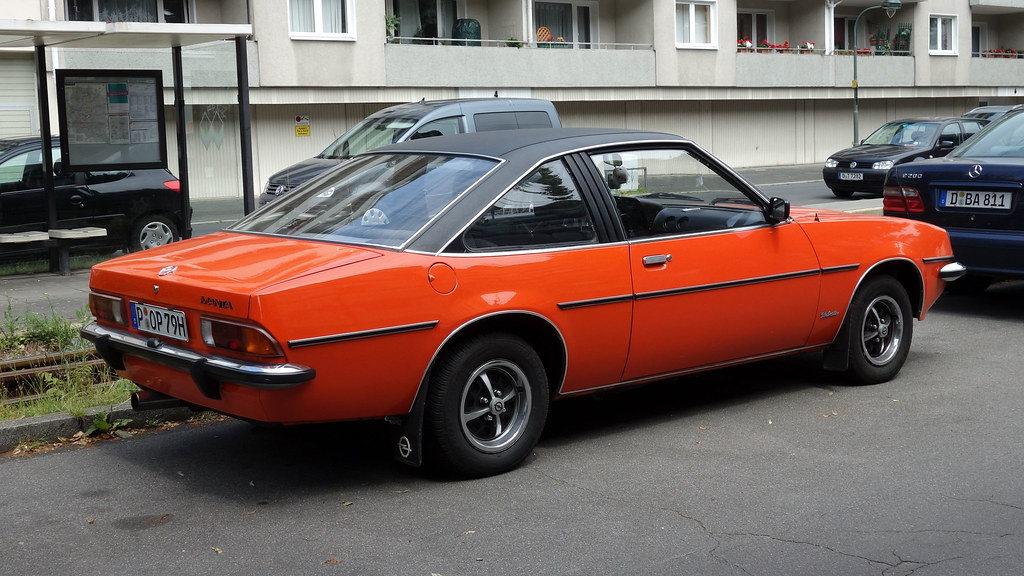 opel manta b berlinetta original 1975 80 opron flickr. Black Bedroom Furniture Sets. Home Design Ideas