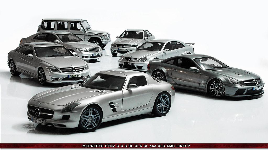Mercedes benz amg lineup ebrahim khazaie flickr for Mercedes benz line up