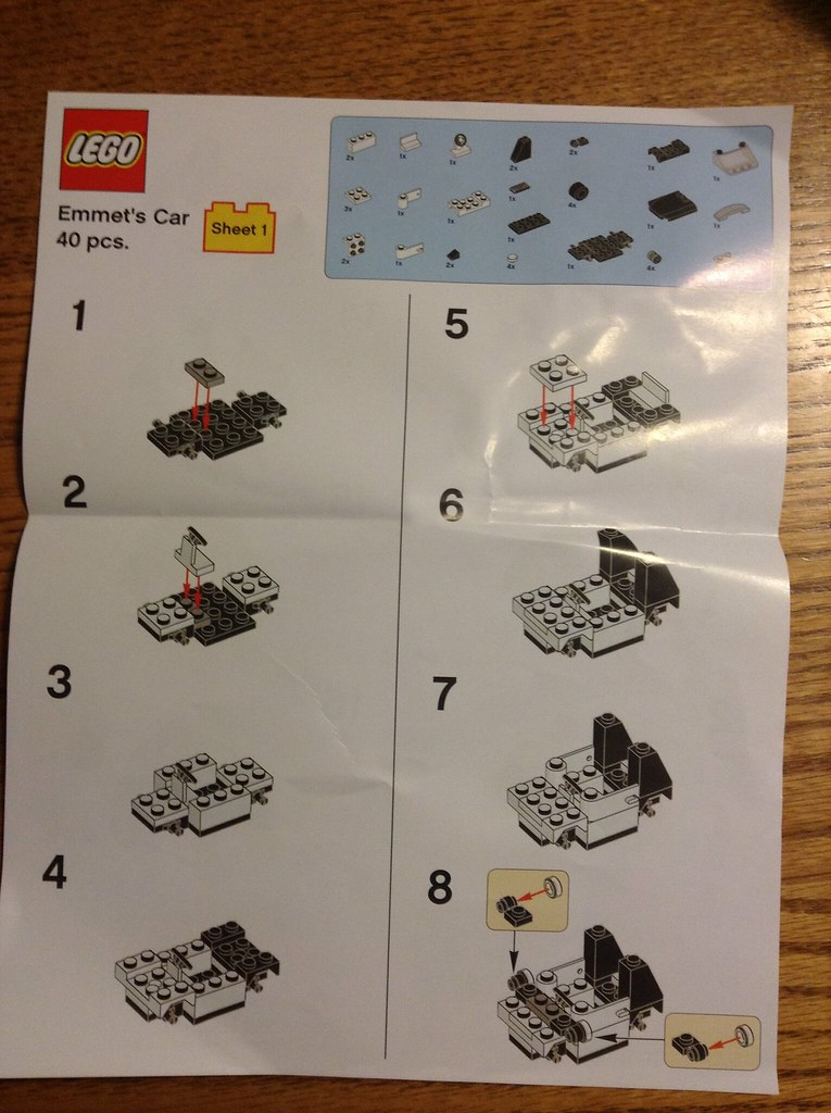 lego car instructions free
