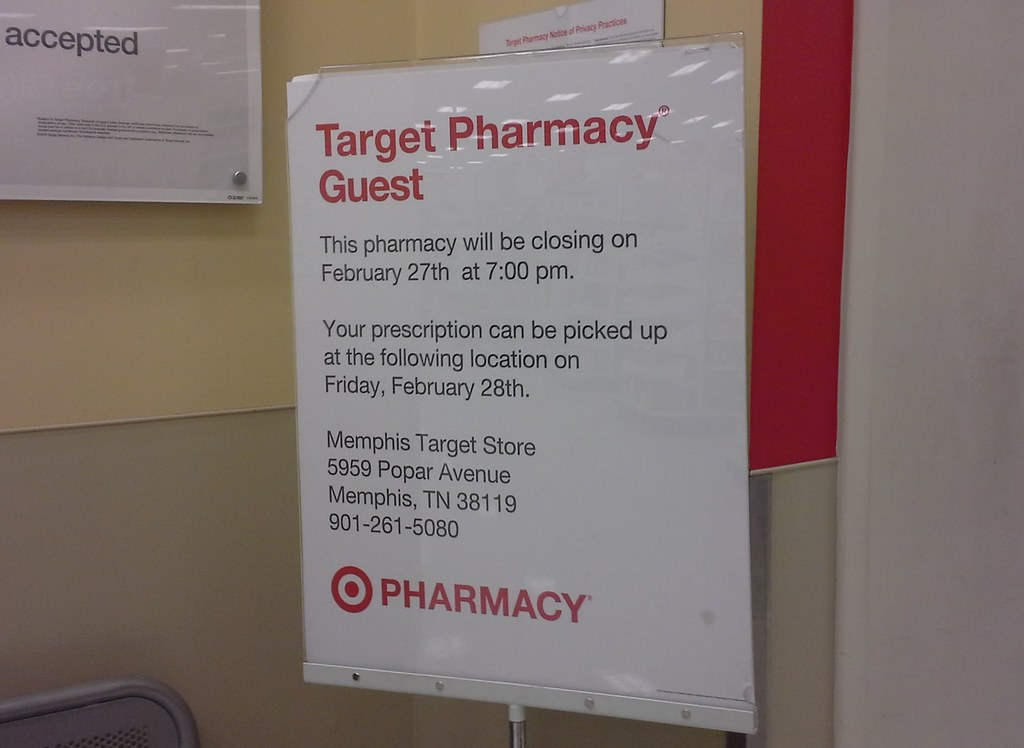 By L Dawg2000 Attention Target Pharmacy Guests Please Leave
