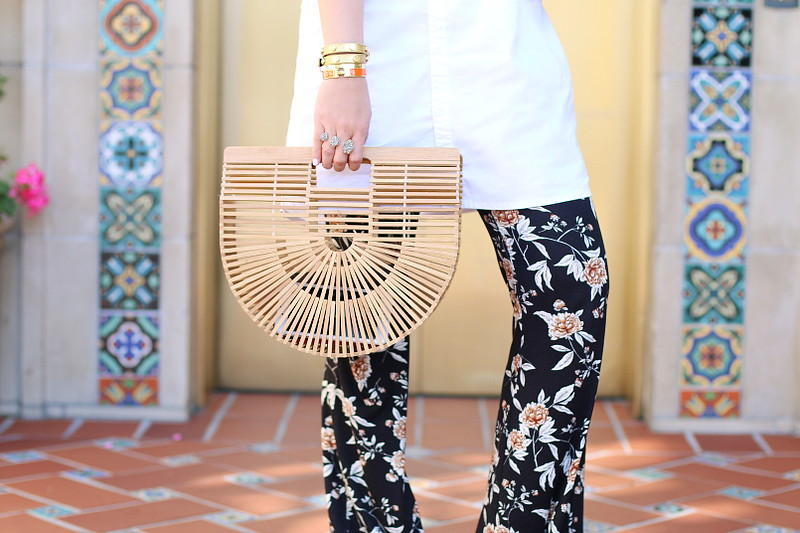 cult-gaia-ark-bag-hermes-bangle-floral-pants-8